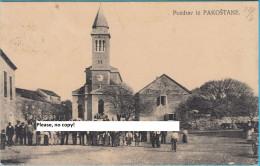 PAKOSTANE  ( Croatia ) * Travelled 1918. * K.u.K. Censure Zadar ( Zara ) - Croatia