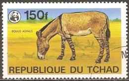 Tchad - 1979 - Âne - YT 363 Oblitéré