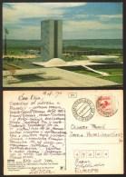 Brazil Brasilia Congresso Nacional Stamp  #19699 - Brasilia