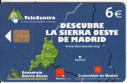 SPAIN - Descubre La Sierra Oeste De Madrid, 11/03, Used - Spain