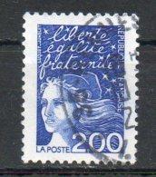 FRANCIA  FRANCE 1997 - Marianne.  2,00fr. Usato - Scott. 2593-A1409 - France
