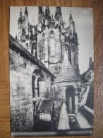 Ancienne Cp Le Mont Saint Michel Abside De L'Eglise - Le Mont Saint Michel