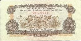 VIET NAM SOUTH 1 DONG ND1963 XF P R4 - Viêt-Nam