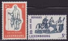 4831. Luxembourg 1960 Help Refugees, MNH (**) Michel 618-619 - Luxembourg