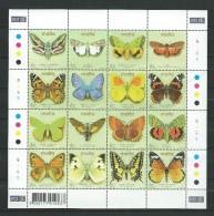 Malta 2002 Maltese Butterflies.papillons .MNH NEUF - Malte