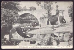 Arrabaldes De MORTAGUA - Ponte De Valle D'Açores (VISEU PORTUGAL). Postal Antigo Circulado WWI P/CEP Hospital - Viseu