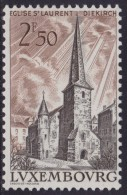 4841. Luxembourg 1962 Landscapes - St. Lawrence's Church, MNH (**) Michel 659 - Luxembourg
