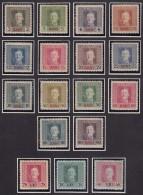 Austria Feldpost Occupation Of Romania 1918 Mi#1-17 Mint Hinged