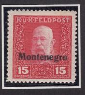 Austria Feldpost, Occupation Of Montenegro 1918 Mi#II Mint Hinged