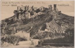 Postal Portugal - Obidos - Castelo Óbidos (Ed. Tipografia Caldense) - Castle - Château - CPA - Postcard - Leiria
