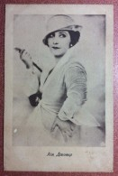 RARE! Old USSR Kiev  Photo Posatcard 1920 Lil Dagover Actress Film Movie - Acteurs