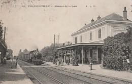 95 - FRANCONVILLE - 40 - Intérieur De La Gare - Franconville