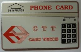 CAPE VERDE - L&G - CTT - 2nd Print - 20 Units - 112A - Mint - RARE - Cape Verde