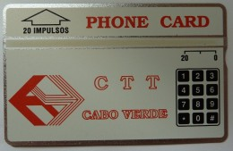 CAPE VERDE - L&G - CTT - 2nd Print - 20 Units - 112A - Mint - RARE - Kapverden