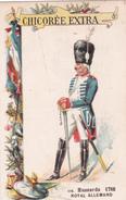 HUSSARDS - ROYAL ALLEMAND  - 1786  - N°116  - CHICOREE EXTRA  C. BERIOT - Tè & Caffè
