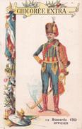 HUSSARDS - OFFICIER  - 1783 - N°114  - CHICOREE EXTRA  C. BERIOT - Thé & Café