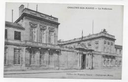 CHALONS SUR MARNE - LA PREFECTURE - CPA NON VOYAGEE - Châlons-sur-Marne