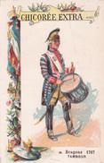 DRAGONS - TAMBOUR - 1767 - N°95 - CHICOREE EXTRA  C. BERIOT - Thé & Café
