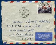 France - Enveloppe De St Denis De La Réunion ( Réunion ) En 1952 Pour Versailles, A Voir Réf S 198 - Marcophilie (Lettres)