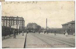 Tout Paris  Rue Ordener,le Pont Marcadet  Et La Statin  (XVIII) - Arrondissement: 18