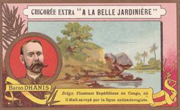 BARON DHANIS - BELGE - PLUSIEURS EXPEDITIONS AU CONGO - CHICOREE EXTRA  C. BERIOT - Thé & Café