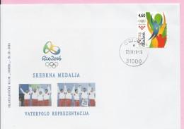 Olympic Games - Rio 2016 - Waterpolo, Silver Medal, Osijek, 22.8.2016., Croatia, Cover - Summer 2016: Rio De Janeiro