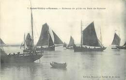 80 SAINT VALERY SUR SOMME - Bateaux De Pêche En Baie De Somme - Saint Valery Sur Somme