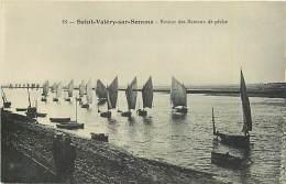 80 SAINT VALERY SUR SOMME - Retour Dezs Bateaux De Pêche - Saint Valery Sur Somme