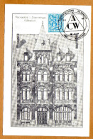 Carte Vilvoorde Nieuwstraat Gildenhuis + Cachet Gildenhuis Vilvoorde - België