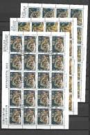 2000 USED Liechtenstein Sheets, Gestempeld - Blokken