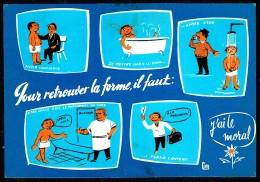 """ Pour Retrouver La Forme, Il Faut: "" - Circulé - Circulated - Gelaufen - 1967. - Humour"