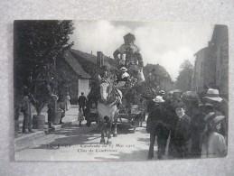 CPA TOURNUS Cavalcade Du 27 Mai 1912 LE CHAR DE CAMBRINUS BIERE GEORGES - France