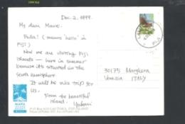 FIJI ISLAND 1999 FROM FIJI TO VENICE TRAVELLED - Fidji