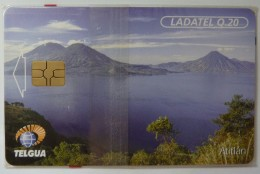Guatemala - Chip - Telgua - Q.20 - Lake Atitlan - 1st Issue - Mint Blister - Guatemala