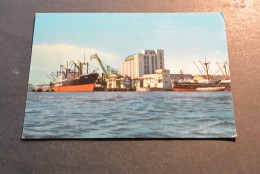 PK221 -  Port Of Nagoya  1907-1957 - Barche