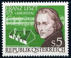 Österreich - Michel  1866 - ** Postfrisch (C) - Franz Liszt - 1945-.... 2nd Republic