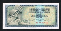 °°° JOEGOSLAVIE  50 DINARA  1968 - Yougoslavie