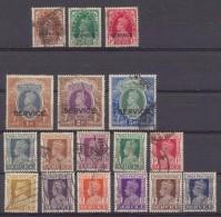 "Inde Anglaise -  India  1937 - 1939 - 1943 Service George VI    Surch ""SERVICE ""   Oblit - Inde (...-1947)"