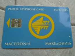 MACEDONIA - CHIP TEST CARD - Macedonia