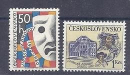 150026537   CHECOSLOVAQUIA  YVERT   Nº   2384/5  **/MNH - Czechoslovakia
