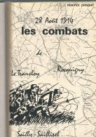 Les Combats De Le Transloy , Rocquigny , Sailly Saillisel - Picardie - Nord-Pas-de-Calais