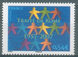France, Treaty Of Rome, 50th Anniv., 2007, MNH VF - France