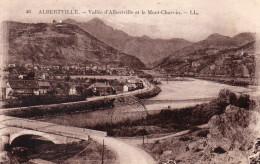 CPA ALBERTVILLE - VALLEE D'ALBERTVILLE ET LE MONT-CHARVIN - Albertville