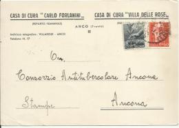CVM83-Stampa Con 60 Cent. Turrita + 40 Cent. Democratica 4.7.1946 - Bella - 1944-46 Lieutenance & Humbert II