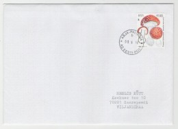 GOOD ESTONIA Postal Cover 2016 - Good Stamped: Mushrooms - Estonie