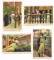 °°°  COTE D'OR VOLLEDIGE SERIE N°4 REINE ASTRID   24  CROMO'S 1937 ? - Côte D'Or