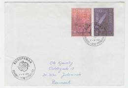 GOOD BELGIUM Postal Cover To DENMARK 1988 - Good Stamped: Europa - Belgium