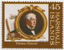 Thomas Alva Edison, Deaf, Disabled, Inventor Of Phonograph, Light Bulb, Kinetoscope, Motion Picture, MNH - Fisica