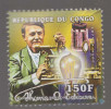 Thomas Alva Edison, Deaf, Disabled, Inventor Of Phonograph, Light Bulb, Kinetoscope, Motion Picture, MNH - Handicap