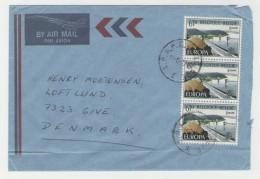 GOOD BELGIUM Postal Cover To DENMARK 1977 - Good Stamped: Europa - Belgium